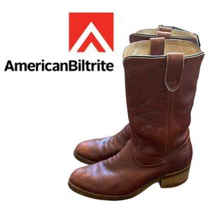 Biltrite Leather Western Boots - Size 11